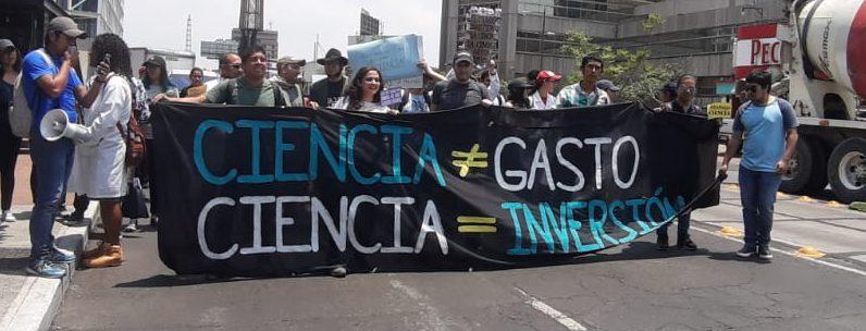 Manta: Ciencia no es un gasto, la ciencia es inversión